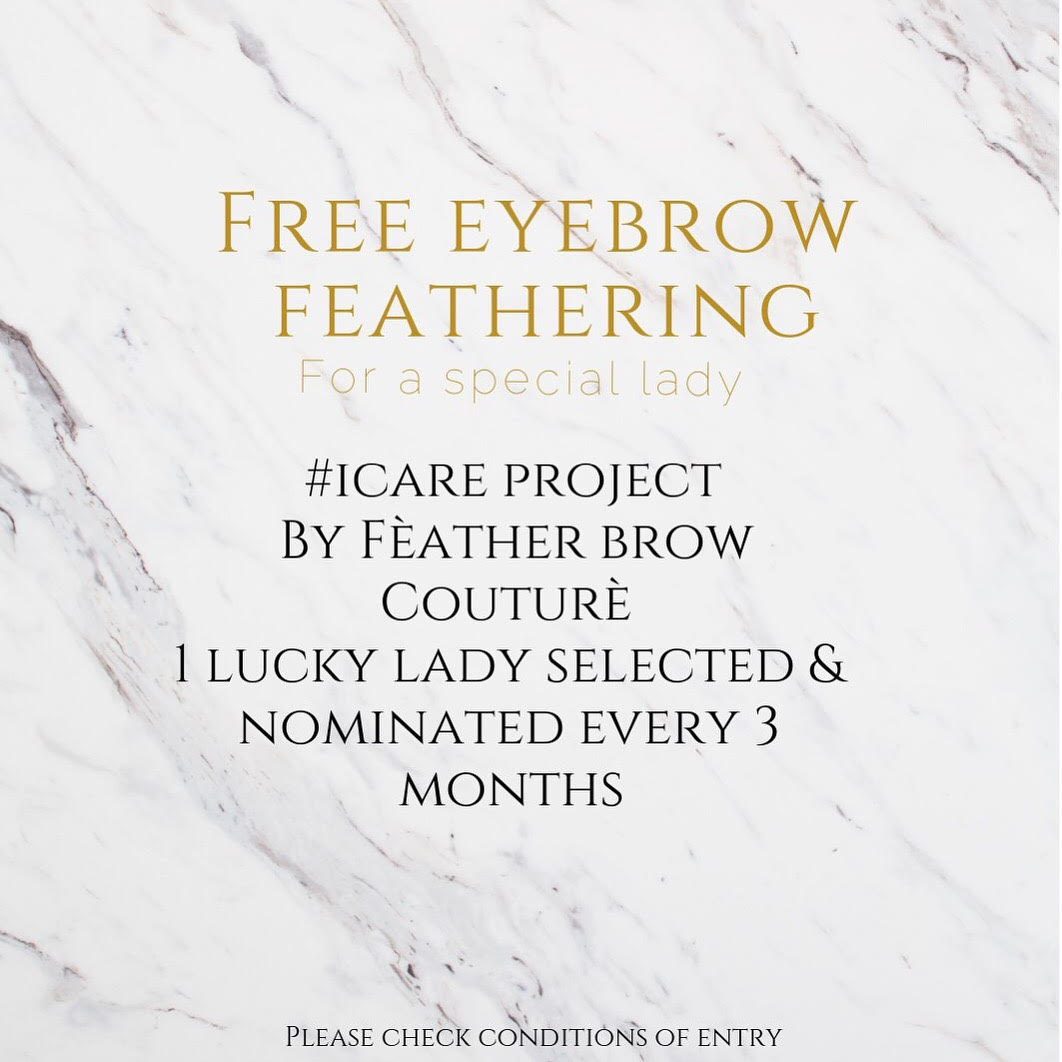 free eyebrow feathering in sydney